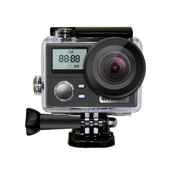 AT-Q302 4K 2 Inch WiFi Waterproof Remote Control Sport DV Vlog Camera
