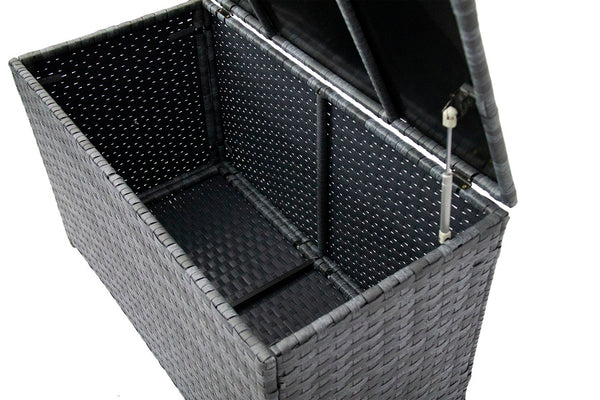 Fine Living - Rattan Storage Container - Marble Bl