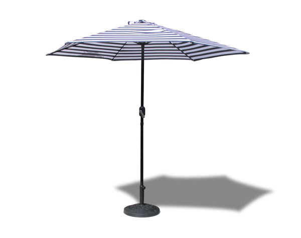Umbrella - Vogue Patio - Navy/White Stripe