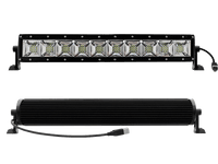 "100W, 5600 Lm  - Rugged SA 10'' Dual Row Scene Light LED Bar, with brackets and harness - 10"" / Bar / Scene"