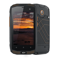 AGM A2 Rugged Android 5.1 Smartphone - 2GB, 16GB, Snapdragon CPU, IP68, Dual-SIM