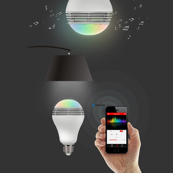 Playbulb Color - RGB Color Light Bilb With Speakers And App Control