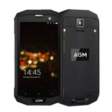 AGM A8 Pro Rugged Android 7.1 Smartphone - 4GB, 64GB, IP68, Snapdragon CPU, Dual-Sim