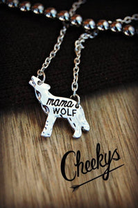 Mama Wolf Necklace - Clemmie and Jo