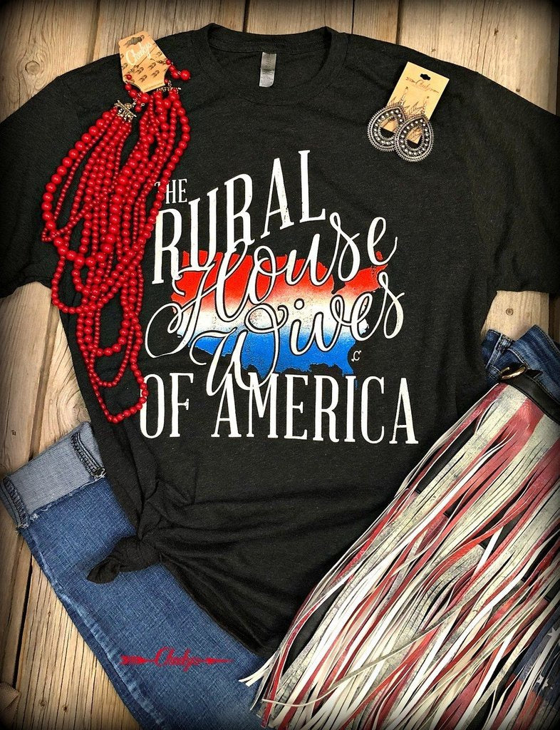 Rural Housewives Tee - Clemmie and Jo