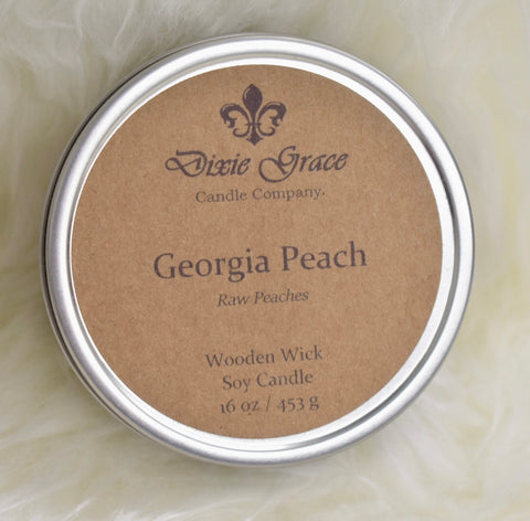 Dixie Grace Candle Company - 16 oz Candle Tin - Clemmie and Jo