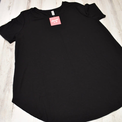 Perfect Tee - Round Hem Round Neck
