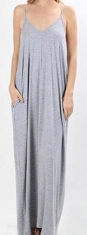 Spaghetti Strap Maxi Dress - Clemmie and Jo
