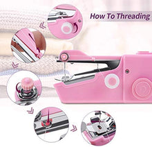 Load image into Gallery viewer, Portable Sewing Machine Cordless Electric Sewing Machine