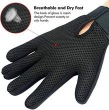 Load image into Gallery viewer, Pet Grooming Glove - Gentle Deshedding Brush Glove - 1 Pair