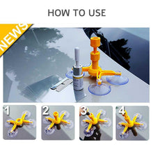 Load image into Gallery viewer, Windshield Repair Kit Quick Fix Car Cracked Glass Windscreen Repair Tool Kit