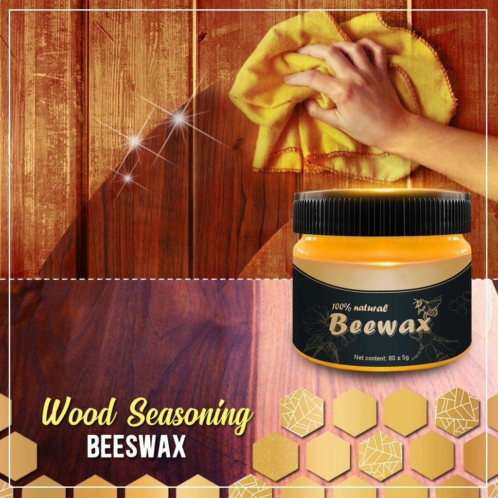 Beewax Polish for Wood & Furniture