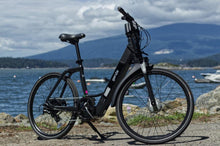 Load image into Gallery viewer, Genze E222 Step-Thru Matte Black Electric Bike 350 Watts