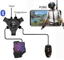 Load image into Gallery viewer, GamerPro - Mobile Phone Keyboard and Mouse Set