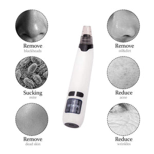 PoreSuction™ Microdermabrasion Kit Blackhead Remover Plus FREE Nano Facial Steamer