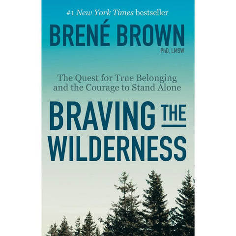 Cover of Braving the Wilderness - the silhouette of a treeline