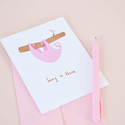 'Hang In There' Card-Talking Out Of Turn-Crying Out Loud