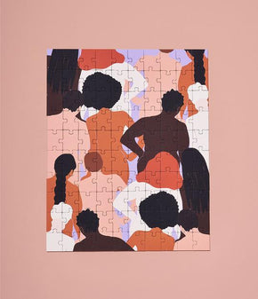 'Community' by Shanee Benjamin - 100 Piece Puzzle