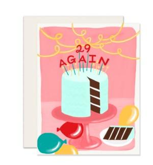 29 Again Card-Slightly-Crying Out Loud
