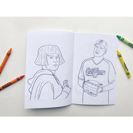 Schitt's Creek Colouring Book-Party Mountain Paper Co.-Crying Out Loud