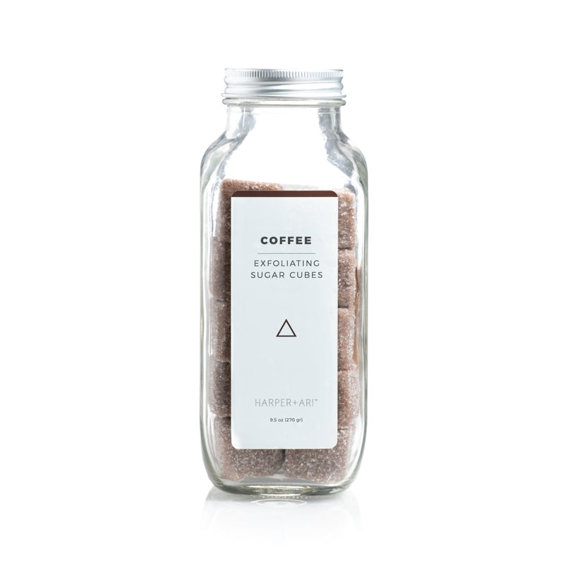 Exfoliating Sugar Cubes - Coffee-Harper + Ari-Crying Out Loud