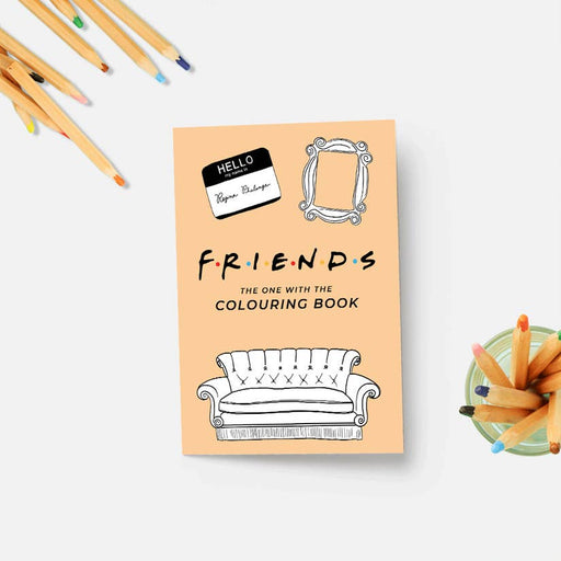 Friends Colouring Book-Party Mountain Paper Co.-Crying Out Loud