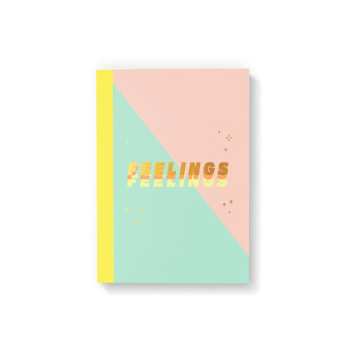 'Feelings' Notebook-Party Mountain Paper Co.-Crying Out Loud