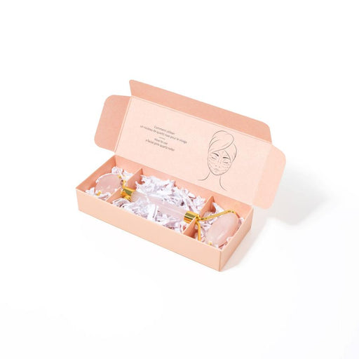 Rose Quartz Facial Roller-BKind-Crying Out Loud