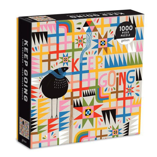 Keep Going 1000 Piece Puzzle in Square Box-Galison-Crying Out Loud