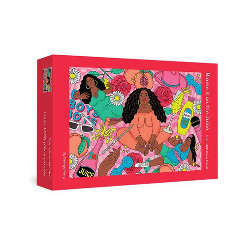 Blame It On The Juice: Lizzo 1,000 Piece Puzzle-Georgia Perry-Crying Out Loud