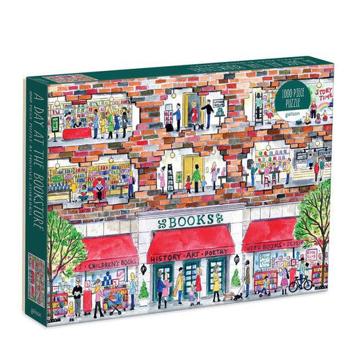 Michael Storrings A Day at the Bookstore 1000 Piece Puzzle-Galison-Crying Out Loud