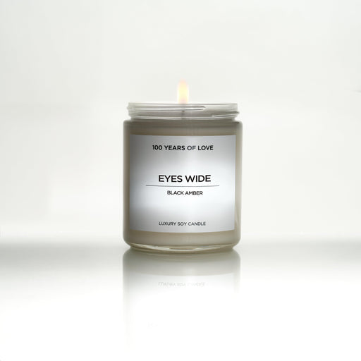 Eyes Wide Candle (Black Amber)