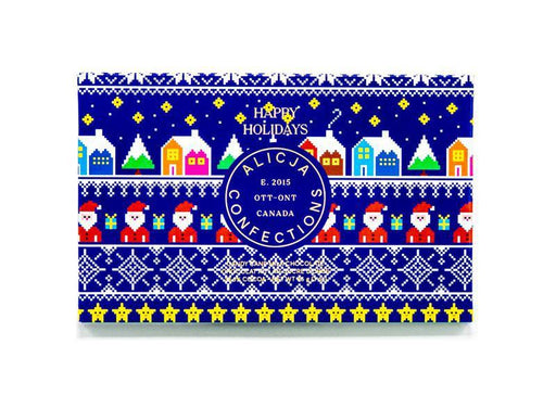 Happy Holidays Postcard Bar