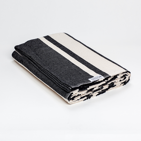 The Practice Blanket - Onyx Stripe-B Yoga-Crying Out Loud