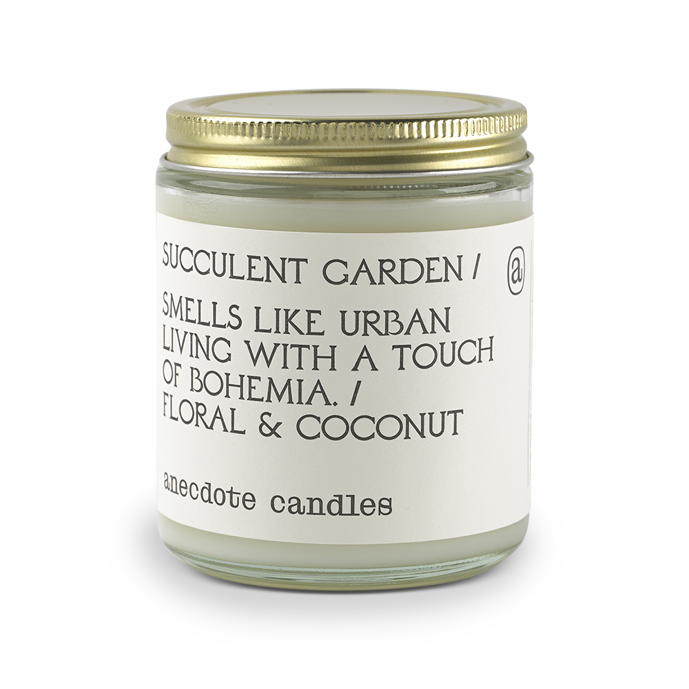 Succulent Garden (Floral & Coconut) Candle-Anecdote-Crying Out Loud