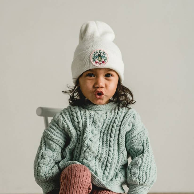 Beanie (Infant/Toddler) - Bee Kind-Seaslope-Crying Out Loud