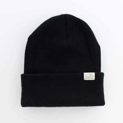 Beanie (Youth/Adult) - Jet Black-Seaslope-Jet Black-Crying Out Loud