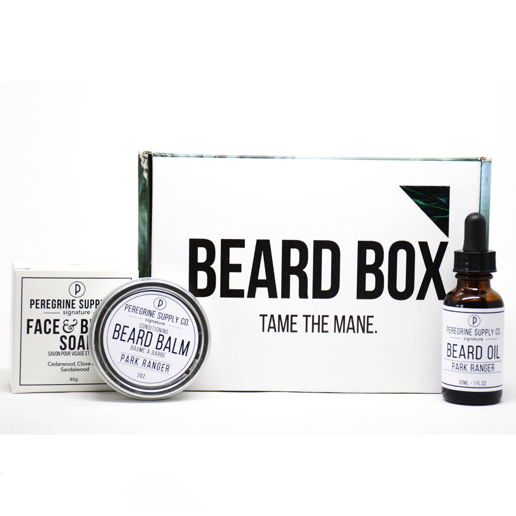 Beard Box Care Package-Peregrine Supply Co.-Marin-Crying Out Loud