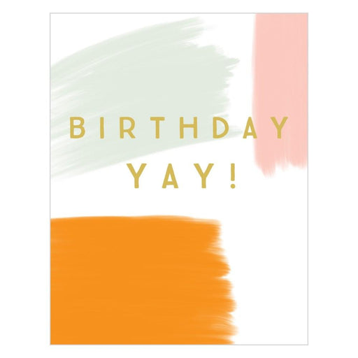 Birthday Yay Card-Think Of Me Designs-Crying Out Loud