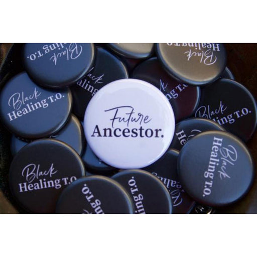 Black Healing T.O. Logo Button-Black Healing T.O.-Crying Out Loud