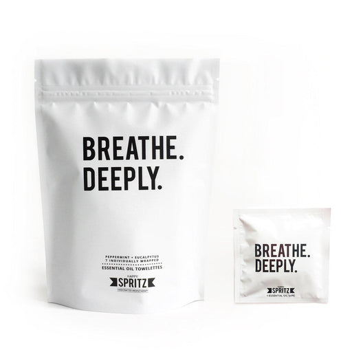 Breathe Deeply 7 Day Towelette Box-Happy Spritz-Crying Out Loud