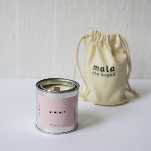 Sundays Candle - Lavender + Apricot + Sandalwood-Mala The Brand-Crying Out Loud