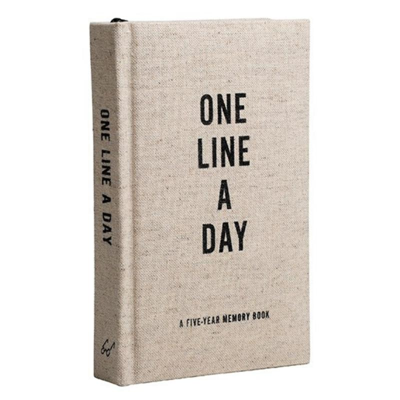 Canvas One Line a Day-Chronicle Books-Notebook / blank book-Crying Out Loud