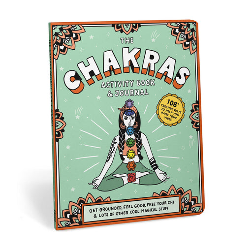 Chakras Activity Book and Journal-Knock Knock-Crying Out Loud