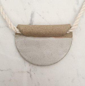 Circle Fold Necklace-Cylinder Studio-Crying Out Loud