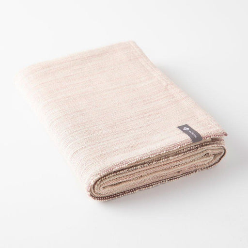 Cotton Yoga Blanket-Half Moon-Melange Desert Rose-Crying Out Loud