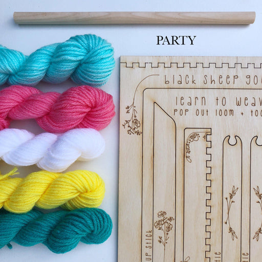 DIY Tapestry Weaving Kit-Black Sheep Goods-Forest-Crying Out Loud
