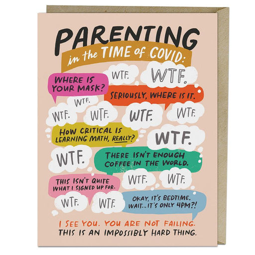 'Parenting in the Time of Covid' Card