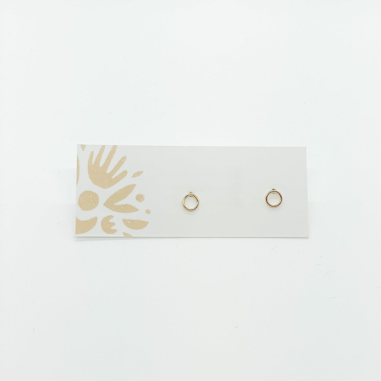 Gold Fill OO Studs-Devi Arts Collective-Crying Out Loud