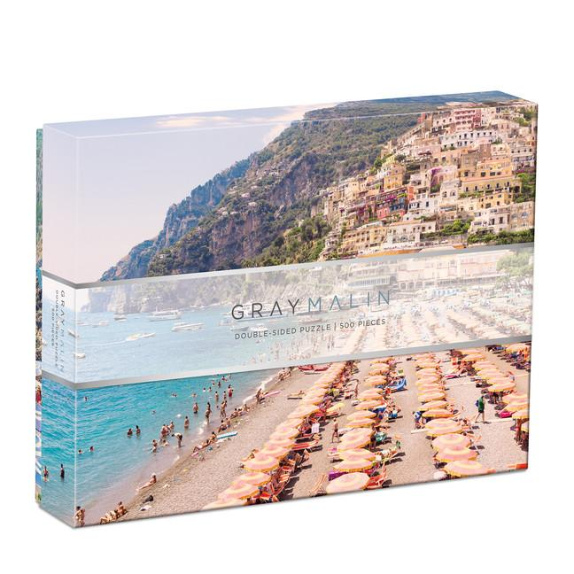 Gray Malin Italy 2-Sided 500 Piece Puzzle-Galison-Game-Crying Out Loud